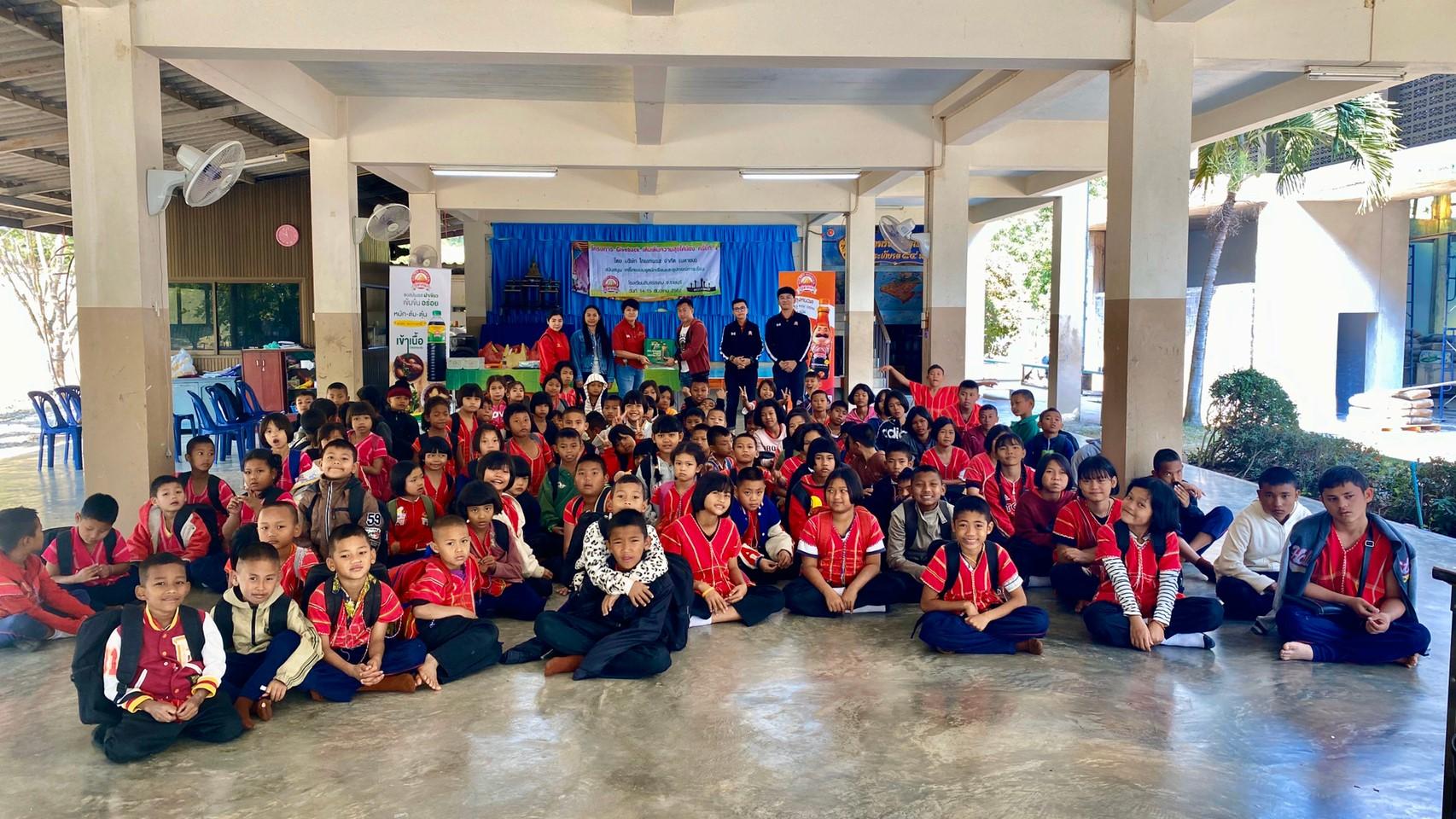 """""""ภูเขาทอง"""" จัดโครงการ """"GiveBack เติมเต็มความสุขให้น้อง"""" ครั้งที่ 4 ณ โรงเรียนสินแร่สยาม จ.ราชบุรี เมื่อวันที่ 13 – 15 ธันวาคม 2562 ที่ผ่านมา"""